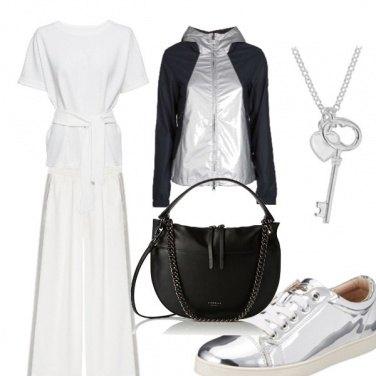 Outfit Silver attitude