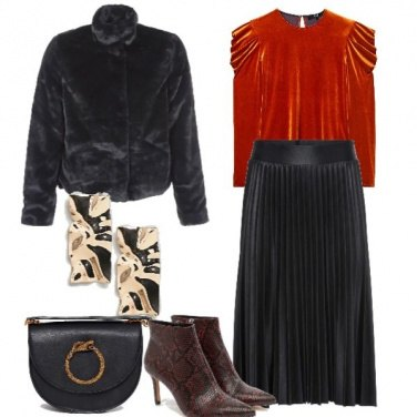 Outfit Texture mix