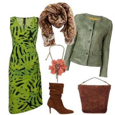 Outfit Come una pianta...
