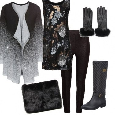Outfit Capodanno in baita n. 1