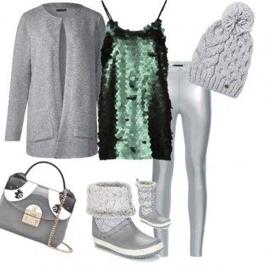 Outfit Capodanno in baita n. 2
