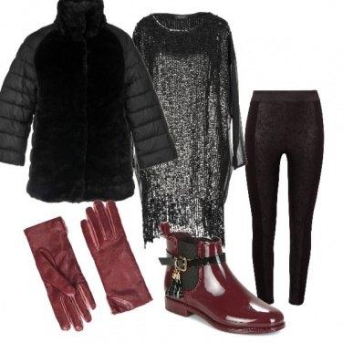 Outfit Capodanno in baita n. 3