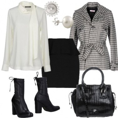 Outfit La giacca in tweed