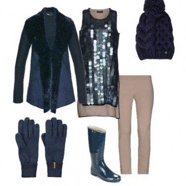 Outfit Capodanno in baita n. 5
