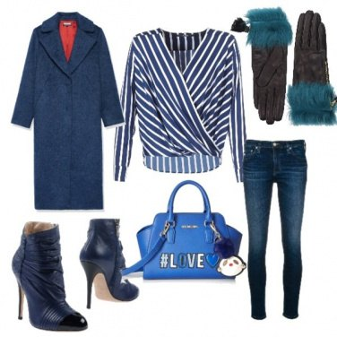 Outfit Jeans chic