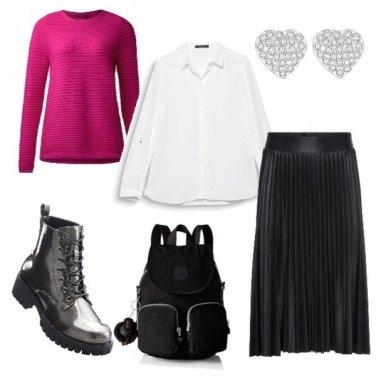 Outfit La camicia bianca p.3
