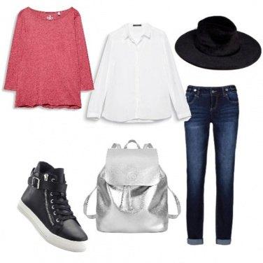 Outfit La camicia bianca p.4