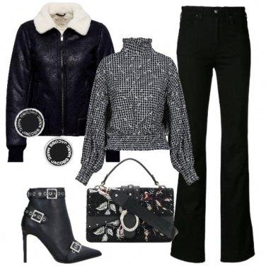 Outfit Fashion con il bomber