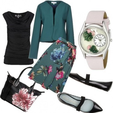 Outfit Un fiore in città...