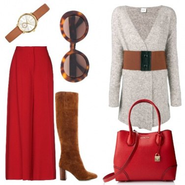 Outfit Contrasti cromatici