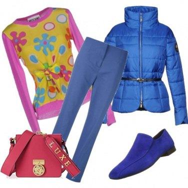 Outfit Lunedì con il colore