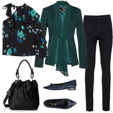 Outfit Fiori monospalla
