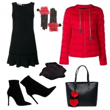 Outfit Passion Red