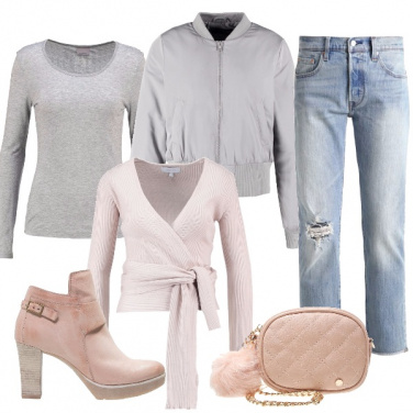 Outfit Il pon pon rosa