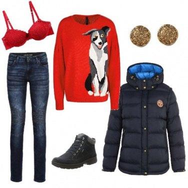 Outfit Capodanno in baita