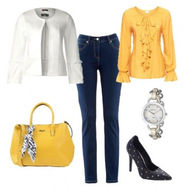 Outfit Con un po' di colore