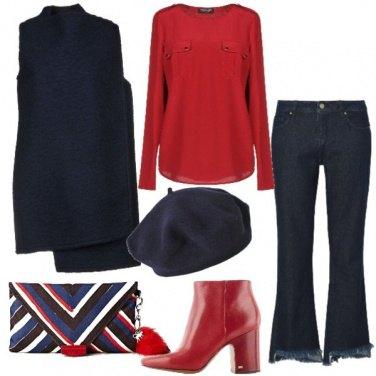 Outfit Il soprabito in lana cotta