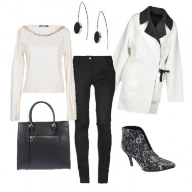 Outfit Black and White every day