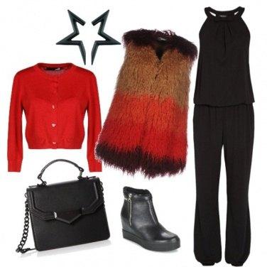 Outfit Ecopelliccia