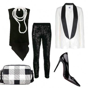 Outfit Elegant B&W
