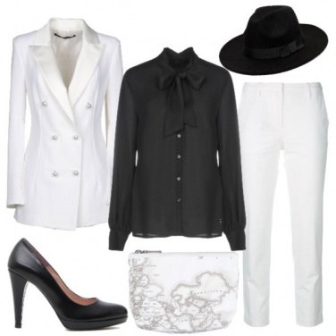 Outfit Black or White?