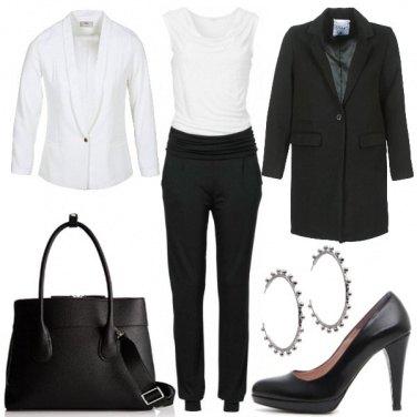 Outfit Eleganza fluida
