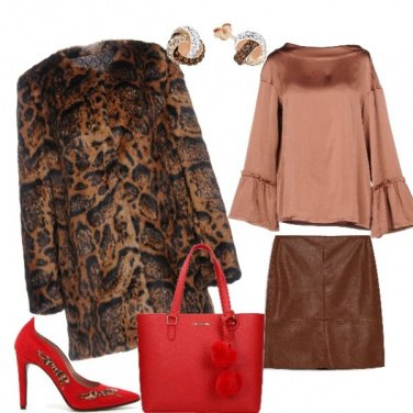 Outfit Animalier audace