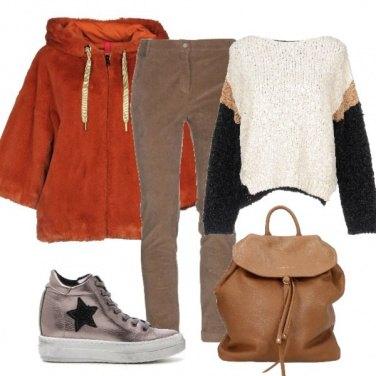 Outfit Calda pelliccetta