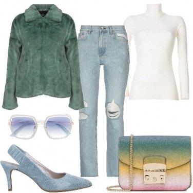 Outfit Morbida e colorata