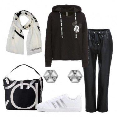 Outfit SImpaticamente in nero e bianco