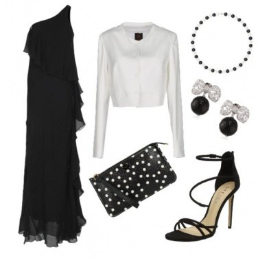 Outfit Elegante in black&white