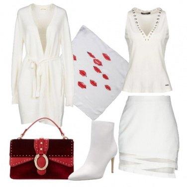 Outfit Bianco sexy di giorno