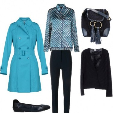 """Outfit Trench di """"mare"""""""