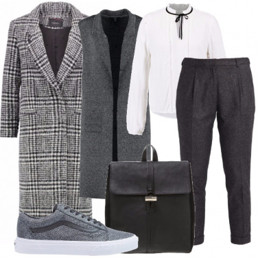 Outfit Un tocco maschile