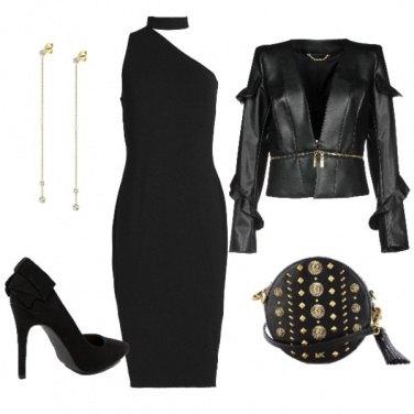 Outfit Misteriosa e seducente