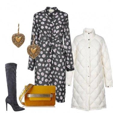 Outfit Margherite nel vestito