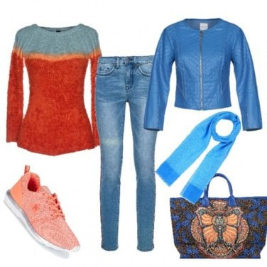 Outfit La borsa stravagante