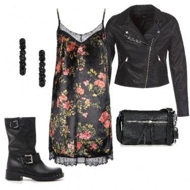 Outfit Una romantica Biker