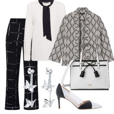 Outfit Intramontabile Black and White