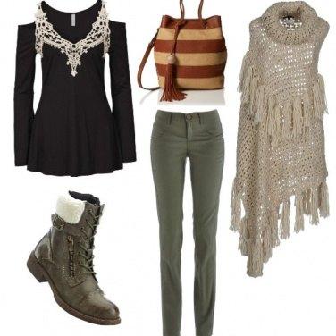 Outfit Frange e napppine