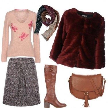 Outfit Vestita di freddo