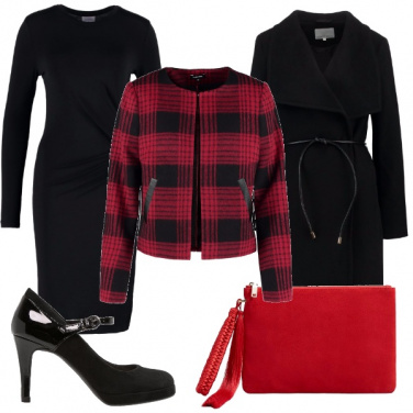 Outfit Eleganza in rosso