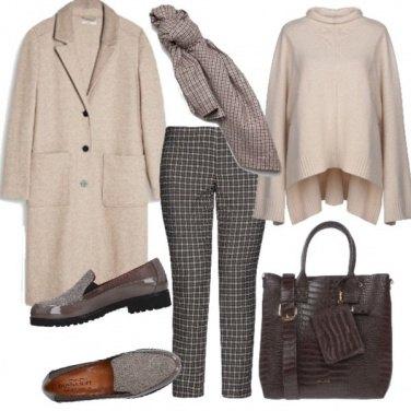 Outfit Toni caldi in ufficio