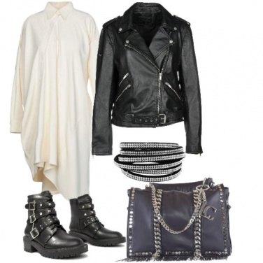 b4a84034becb Vestito chemisier rock  outfit donna Rock per tutti i giorni