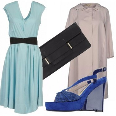 Outfit A touch of blue