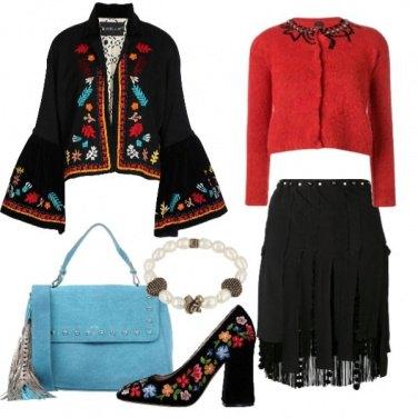 Outfit L\'etnico dell\'est