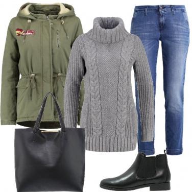 Outfit Calda comoda e alla moda
