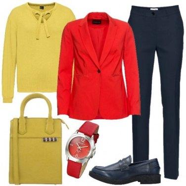 Outfit Abbinamento di colori primari