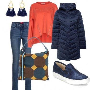 Outfit La borsa geometrica