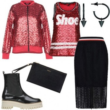 Outfit Urban brillante